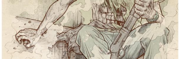 La noche del cazador, ilustración de Revista Buriñón