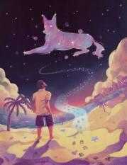 Ilustración de Karla Moo para un cuento