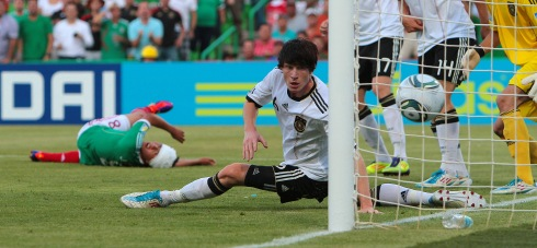 Germany and Mexico - FIFA U-17 World Cup